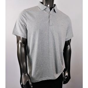 Michael Kors Heather Gray Polo Shirt